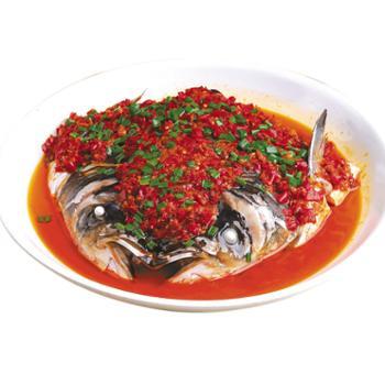 好余轩白鲢鱼头剁椒/酱椒味400-500g鱼头4个+4袋酱料