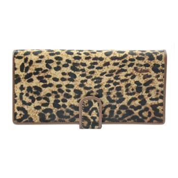 尼诺里拉NINORIVA咖啡色时尚动物纹NINORIVA长款钱夹NR602671