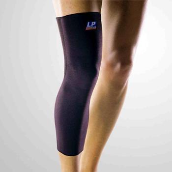LP护腿保暖护膝加长运动跑步骑行男篮球护具护小腿高伸缩型全腿式护套LP667B单只装