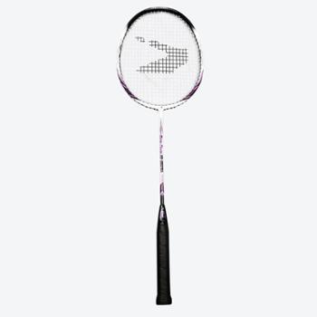 思比特羽毛球拍单拍家庭初级超轻碳铝一体拍男女情侣初学羽拍ymqpXB-35015