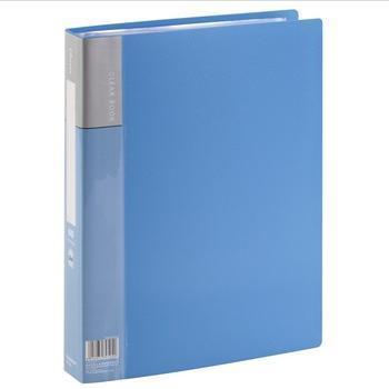 齐心(COMIX)PF60AK 资料册/文件册/文件夹/报告夹 A4 60袋 蓝色
