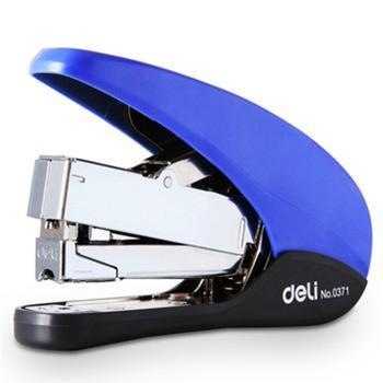 得力(deli)0371 省力型订书机(12#钉) 颜色随机