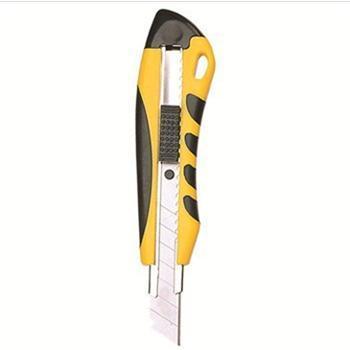 齐心(COMIX)B2801 舒适防滑大号美工刀 颜色随机