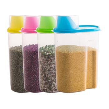 四个装五谷杂粮存储罐大号2.5L