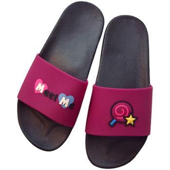 瑶琳 韩版浴室拖鞋 家用防滑外穿凉拖鞋