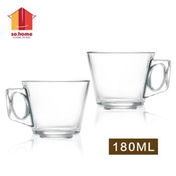 sohome 土耳其杯 耐热玻璃/水杯/玻璃杯/茶杯/办公杯 2只装 180ml