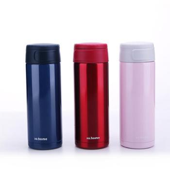 sohome珐琅不锈钢真空保温杯瓶学士杯水杯男女士便携茶杯车载杯