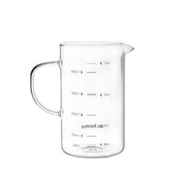 sohome儿童牛奶玻璃杯带刻度500ML