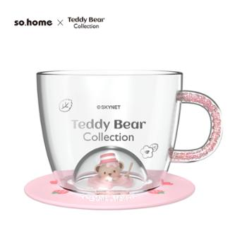 sohome泰迪珍藏晶钻耐热玻璃杯新品
