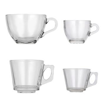 sohome土耳其耐热玻璃杯茶杯咖啡杯威士忌酒杯对杯两只装