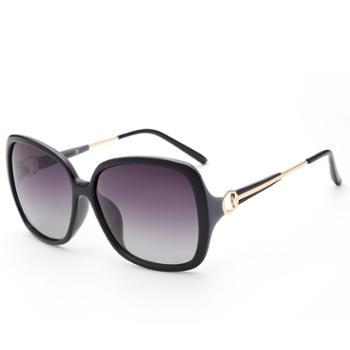 砾石女士偏光太阳镜大框渐变司机驾驶墨镜时尚百搭装饰眼镜可定制近视眼镜