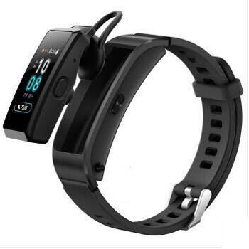 华为(HUAWEI) 手环B5智能男女成人情侣穿戴通话蓝牙耳机电话手表运动计步器心率睡眠监测 B5-运动版-韵律黑