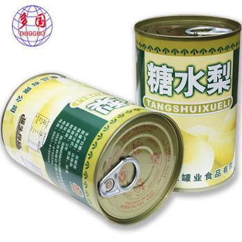 多国 糖水梨罐头 425G*5罐