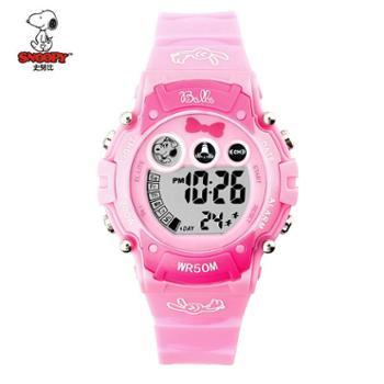 SNOOPY史努比儿童手表电子表闹钟防水夜光BEW012EC-2627多款可选