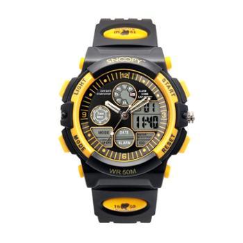 SNOOPY史努比儿童手表运动大黄蜂户外儿童手表SNW739EC-2612BK