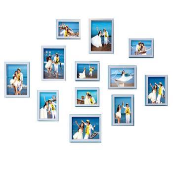 皓美 照片墙--蓝色地中海12件套