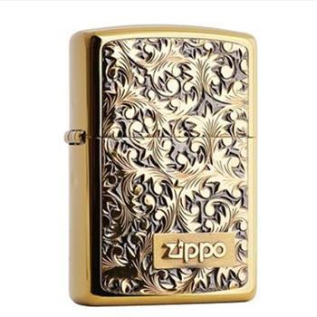 ZIPPO打火机 镀金唐草 K3 SC1611