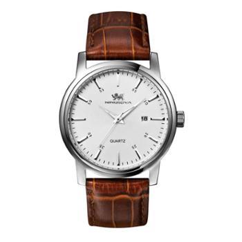 尼诺里拉NINO RIVA 精钢带手表休闲大表盘石英男表 51008.221.01