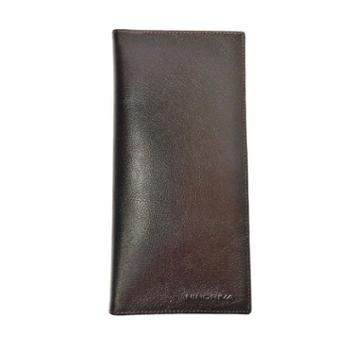 NINORIVA 尼诺里拉 咖色牛皮革长款钱夹 NR60337-3