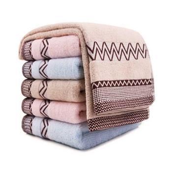 三利波西米亚面巾6条混色装(浅咖 浅粉 浅蓝各2条)