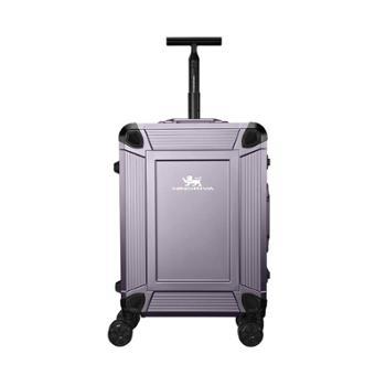 尼诺里拉枪色一体成型铝镁合金旅行箱拉杆行李NRB-18021-20寸枪色