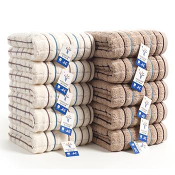 金号吸水毛巾两条装纯棉GA1016
