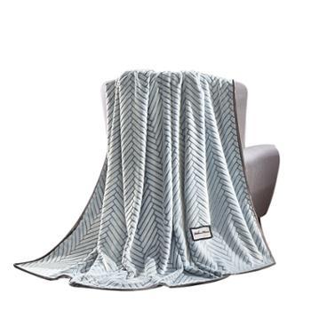 维科家纺/VEKEN可可里时尚绒毯180x200cmVKM-317时尚绒毯