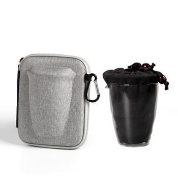 谁美便携旅行功夫茶具简易快客杯办公飘逸杯户外陶瓷茶具套装jcs