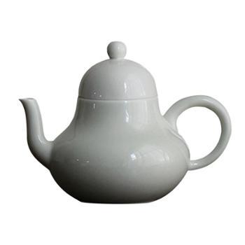 谁美草木灰手工茶壶景德镇陶瓷功夫茶具泡茶壶家用小茶壶单壶sjyw
