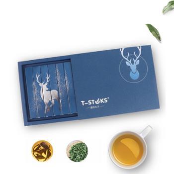 T-STKS鹿在东方棒棒茶茶棒紫阳红茶袋泡茶6支装