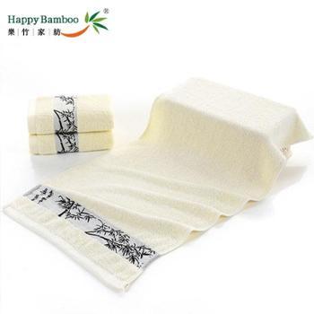 乐林雅竹林款竹纤维毛巾