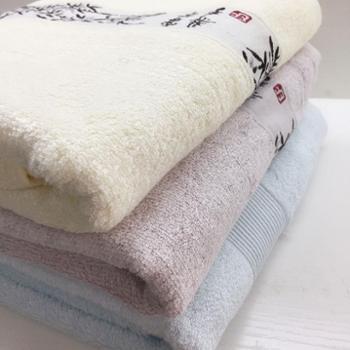 乐竹 竹纤维浴巾 成人儿童浴巾