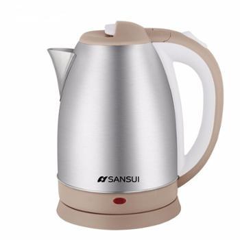 山水 电热水壶 大容量304不锈钢烧水壶2L JM-SSH1582 大容量