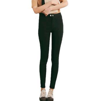 gangsta小猫魔术裤九分紧身显瘦双扣打底裤A686升级5.0系