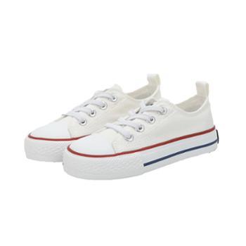 朵尼朵米 基础款儿童小白鞋1938122