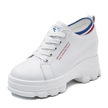 上匠风华 6cm跟高女子休闲潮鞋830-87