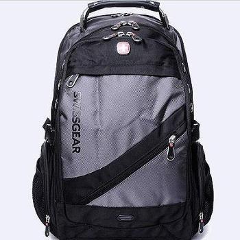 瑞士军刀包15.6寸双肩电脑包背包时尚运动旅行包1418