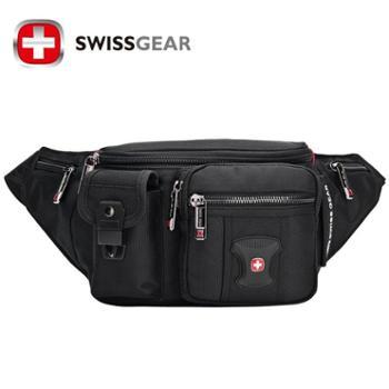 SWISSGEAR瑞士军刀腰包时尚男女情侣单肩包斜挎包8012升级版