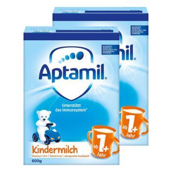 Aptamil【两件装】德国爱他美婴幼儿奶粉1+段800克/罐