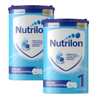 【2件装】荷兰牛栏婴幼儿配方奶粉1段800克/罐