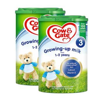 【两罐装】英国牛栏婴幼儿奶粉3段(适合1-2岁)800克/罐