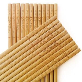 歆音竹筷子天然无漆无蜡竹筷30双