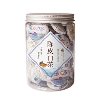 五茗仙陈皮白茶小茶饼250g