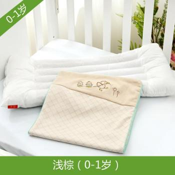 宝宝枕头小孩幼儿园小学生0-1-3-6-10岁婴儿童纯棉透气四季通用