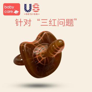 babycare安抚奶嘴 超软安睡型婴儿硅胶纳米银宝宝安抚奶嘴0-6-18