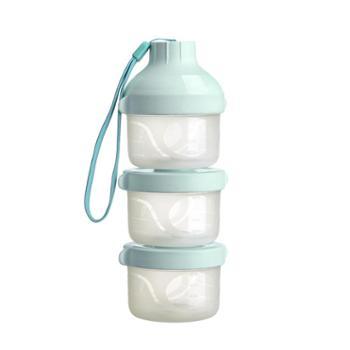 英国hotmom奶粉盒 婴儿便携外出装奶粉罐 大容量储存盒宝宝奶粉格