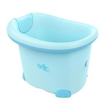 日康儿童洗澡桶用品浴盆宝宝小孩大号沐浴桶加厚可坐躺婴儿泡澡桶