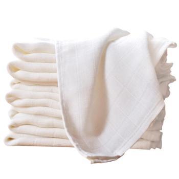 安耐士婴儿纱布尿布宝宝新生儿介子布竹纤维棉透气可水洗A类