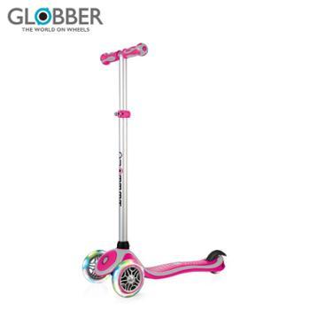 GLOBBER/高乐宝滑板车儿童闪光3岁宝宝单脚小童三轮滑轮车 442