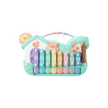 KUB/可优比敲琴八音琴儿童手敲琴宝宝益智早教婴儿敲打音乐玩具